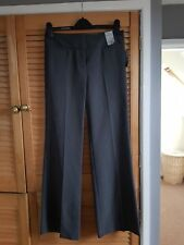 Smart Grey Straight Leg Trousers By Atmosphere Size 8: BNWT: ideal school/work