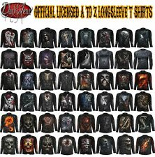 Spiral Direct Halloween costume/Reaper/Rock/Dragon/Goth/Xmas/Long Sleeve T shirt
