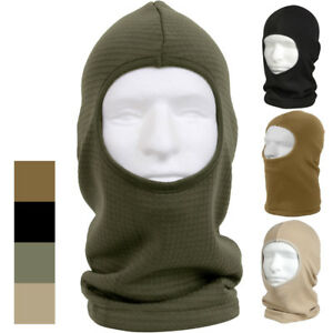 Tactical One Hole Waffle Knit Balaclava Face Mask Military ECWCS Head Cover