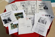 Dizzy Dean Restaurants Lot - 40 Items - Super Rare Late 1960's Monthly Box Score