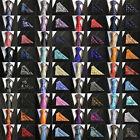 Lot 10X Mens ties Silk  Pocket Square Handkerchief SET From Factory 48 Colors