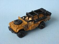 MATCHBOX Sahara Survivor Land Rover Militaire Armée SAS pinky beige foncé jouet voiture