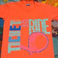 Vintage 90s Six Flags Theme Park T Shirt Adult XS Ticket to Ride Amusement Park