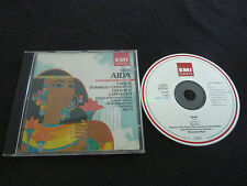 VERDI AIDA ULTRA RARE CLASSICAL CD! CABALLE DOMINGO GHIAUROV