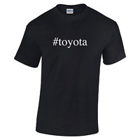 #toyota Toyota Race Car Truck Funny Mens Hashtag Short Sleeve Cotton T-Shirt
