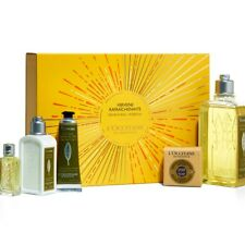 New L'Occitane En Provence Invigorating Verbena Body Care Gift Set