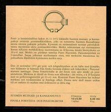 Finland Scott 522b CTO booklet