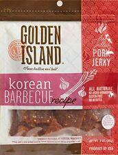 New listing Golden Island Fire Grilled Pork Jerky Korean Barbecue Receipe - 16 Oz *New*