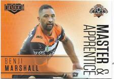 2018 NRL Elite Master & Apprentice (MA 31) Benji MARSHALL Wests Tigers