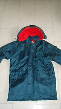 Jet Set - Winterjacke , L ( XL ) , Blau , abnehmbare Kapuze , wenig getragen