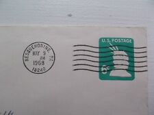 EMBOSSED 6 CENT STATUE OF LIBERTY STAMP ON ENVELOPE (Cancelled)