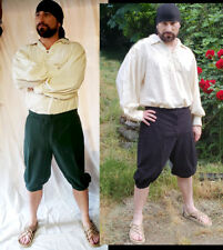 19th Century Reenactment Pirate Sailor Whaler Colonial Regency Button Britches