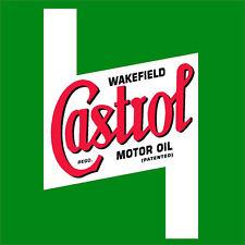 #289 Castrol Vintage superbike sponsor decal racebike race vinyl CBR GSXR CB