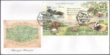 Belarus 2005 Eagle/Hedgehog/Badger/Butterfly/Nature/Animals/Insects FDC (n42968)