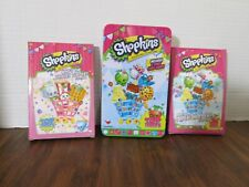 Shopkins Set of 2 Giant Card Games in a Tin