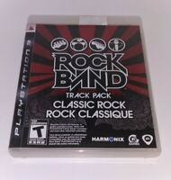 Rock Band Track Pack: Classic Rock (Sony PlayStation 3) Complete - PS3 Game only
