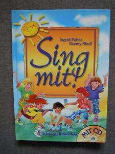 Kinderbuch Lieder SING MIT! Ingrid Pabst Konny Riedl MIT CD