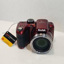 KODAK PIXPRO AZ401 Digital Camera RED 40X Zoom Lens 24mm Wide Angle 16MP 3.0