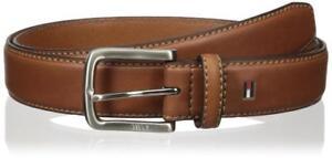Tommy Hilfiger Men's Premium 35MM Leather Casual Belt Brown 11TL02X038