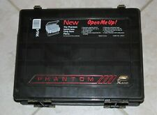 PLANO PHANTOM 1464 DUAL-SIDED FISHING TACKLE BOX:PRE-OWNED TACKLE BOX