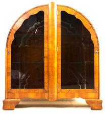 Walnut Edwardian Cabinets (1901-1910)