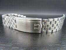 O702 ⭐⭐Vintage Omega Bracelet 1040 Stainless Steel 18 mm Good ⭐⭐