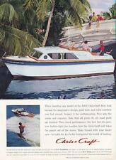 1962 Chris Craft 20' Holiday-25' Constellation Yacht-Boat PRINT AD