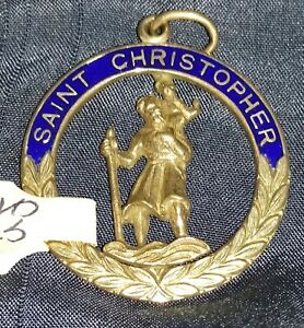 Pendant 9ct Yellow Gold St. Christopher
