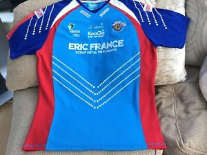 Kooga Wakefield Wildcats Rugby League Home Shirt 2009 Size XL Brand New No Tags