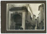 Foto Vintage Piktoralistische 1930 Algerien - Architektur Erde Orientale -