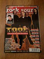 ROCK SOUND MAGAZINE ( 24 ) MAY 2001 TOOL DEFTONES FEAR FACTORY FEEDER MOGWAI