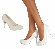 High (3 in. and Up) Satin Party Shoes for Women