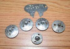 LOT OF 5 Multi-Brand Golf Spikes & 1 Philips Spike Tool For Golfing Cleats