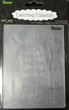 Dress Forms  Embossing Folder  4  x  5-1/2  Inches Darice  NIP