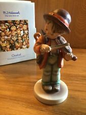 "New ListingGoebel Hummel - ""Little Fiddler"" - #2/0 - 6"" Tmk6 Boy Violin/fiddle Mint w/label"