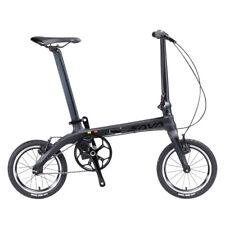 14in Folding Bike Carbon Fiber Frame Single-Speed Bike Mini City Folding Bicycle