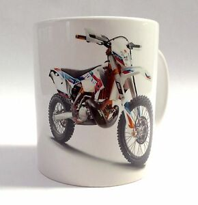 KTM Six Days Enduro Motorbike Mug Gift Can Be Personalised