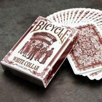 White Collar Playing Cards Deck Numbered Editions