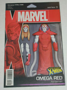 UNCANNY X-MEN #6 CHRISTOPHER ACTION FIGURE VARIANT MARVEL  OMEGA RED NM+