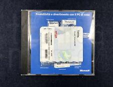 Microsoft Works Suite 2003 CD Installazione Originale con Licenza Product Key
