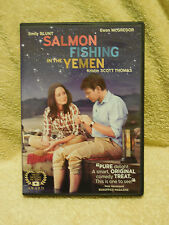 SALMON FISHING IN THE YEMEN ('12, DVD) EMILY BLUNT & EWAN McGREGOR