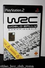 WRC WORLD RALLY CHAMPIONSHIP GIOCO USATO PS2 BUONO STATO ED. ITALIANA  FR1 30932