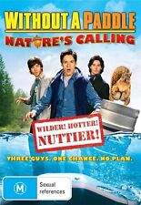 Without A Paddle - Nature's Calling (DVD, 2009) NEW