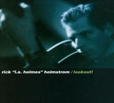 """RICK """"L.A. HOLMES"""" HOLMSTROM - LOOKOUT! - 16 TRACK MUSIC CD - NEW SEALED - F003"""