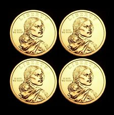 2011 P+D Native American Sacagawea Set ~ Positions A+B from US Mint Rolls
