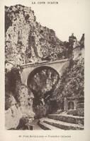 06 - Cartolina - Pont San Louis - Frontière Italiano (E95)