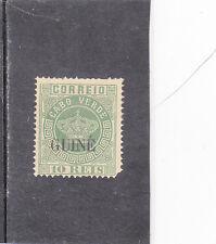 PORTUGUESE GUINEA CROWN 10 REIS (1885) PERF. 13,5  MH