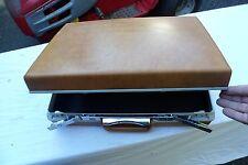 Vintage Samsonite Hard Shell Slim Black Briefcase / Attache