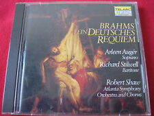 BRAHMS EIN DEUTSCHES REQUIEM - ARLEEN AUGER- TELARC DIGITAL (CD 1984 JAPAN) RARE