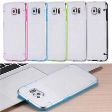 Fundas y carcasas bumperes transparente de silicona/goma para teléfonos móviles y PDAs